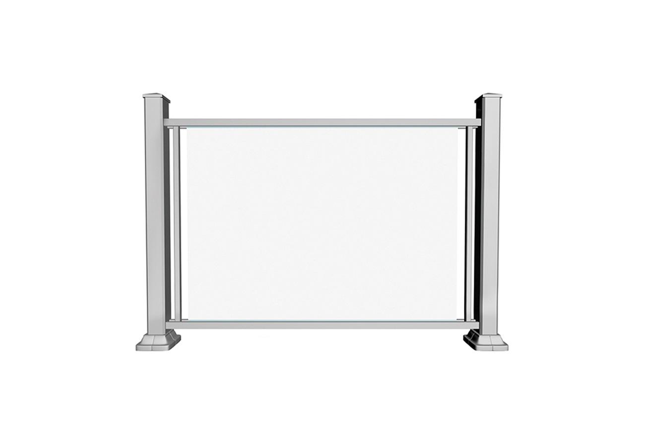 GR4 glass railing