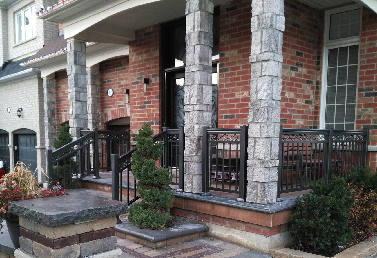 Front entry r4 scroll Pewter