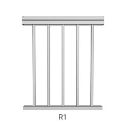 R1 aluminum railing