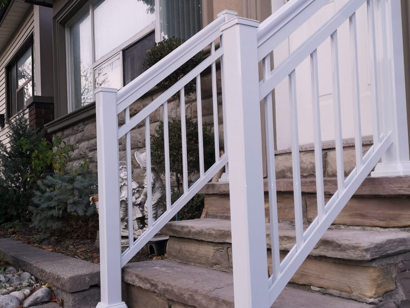 R12 Open Railing Front and Back Entry