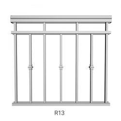 R13 Aluminum Railing