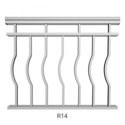 R14 Aluminum Railing