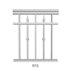 R15 Aluminum Railing