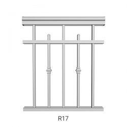 R17 Aluminum Railing