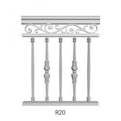R20 Aluminum Railing
