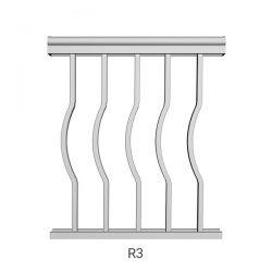 R3 aluminum railing