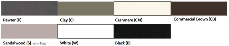railing color palette