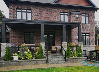 EXTERIOR ALUMINUM RAILINGS & OUTDOOR GLASS RAILINGS